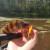 Рыбалка на реке Малая Сестра. Рыбаков нет, а рыбы полно!
